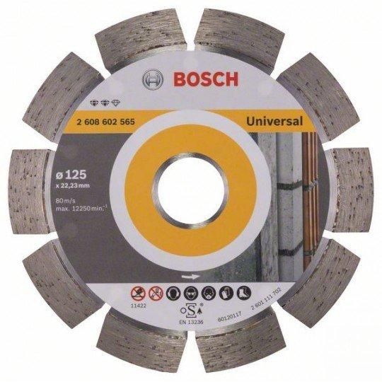 Bosch Expert for Universal gyémánt darabolótárcsák 125 x 22,23 x 2,2 x 12 mm