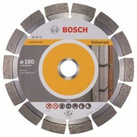 Bosch Expert for Universal gyémánt darabolótárcsák 180 x 22,23 x 2,4 x 12 mm