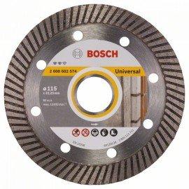 Bosch Expert for Universal Turbo gyémánt darabolótárcsák 115 x 22,23 x 2 x 12 mm