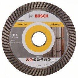 Bosch Expert for Universal Turbo gyémánt darabolótárcsák 125 x 22,23 x 2,2 x 12 mm