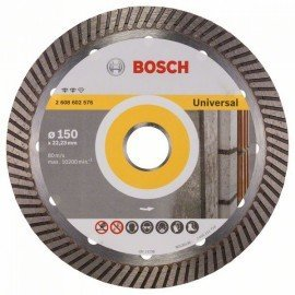 Bosch Expert for Universal Turbo gyémánt darabolótárcsák 150 x 22,23 x 2,2 x 12 mm