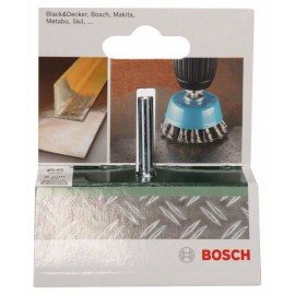Bosch Fazékkefe fúrógépekhez – fonott drót, 65 mm Átmérő = 65 mm