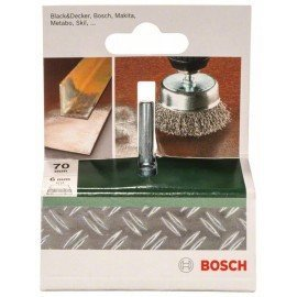 Bosch Fazékkefék fúrógépekhez – hullámosított drót, 70 mm Átmérő = 70 mm