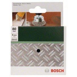 Bosch Fazékkefék fúrógépekhez – hullámosított drót, 80 mm Átmérő = 80 mm