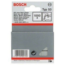Bosch Finomhuzal-kapocs, típus: 53 11,4 x 0,74 x 8 mm