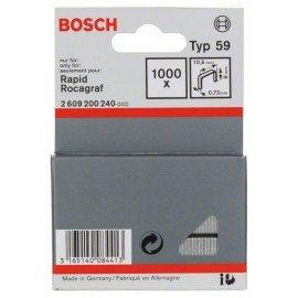Bosch Finomhuzal-kapocs, típus: 59 10,6 x 0,72 x 8 mm