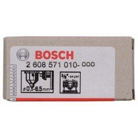 """Bosch Fogaskoszorús fúrótokmány, 10 mm-ig 0,5-6,5 mm, 3/8"""" - 24"""