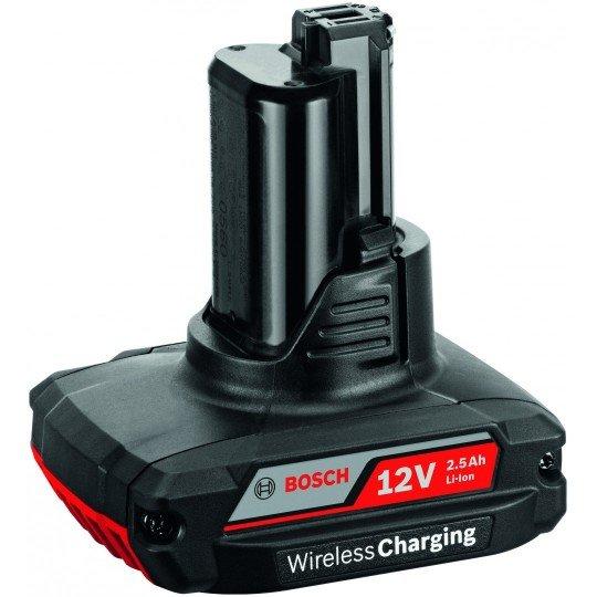 Bosch GBA 12V 2.5Ah W vezeték nélküli töltő