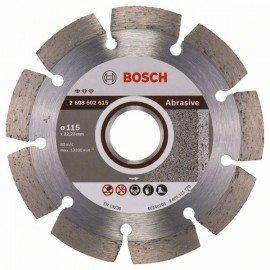 Bosch Gyémánt darabolótárcsa, Standard for Abrasive kivitel 115 x 22,23 x 6 x 7 mm