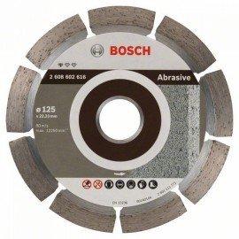Bosch Gyémánt darabolótárcsa, Standard for Abrasive kivitel 125 x 22,23 x 6 x 7 mm