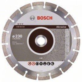 Bosch Gyémánt darabolótárcsa, Standard for Abrasive kivitel 230 x 22,23 x 2,3 x 10 mm