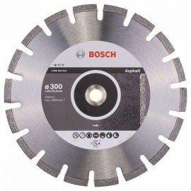 Bosch Gyémánt darabolótárcsa, Standard for Asphalt 300 x 20/25,40 x 2,8 x 10 mm