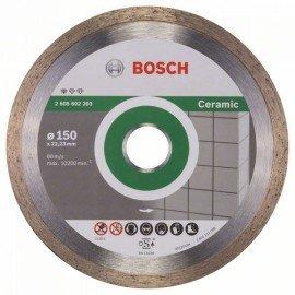 Bosch Gyémánt darabolótárcsa, Standard for Ceramic kivitel 150 x 22,23 x 1,6 x 7 mm