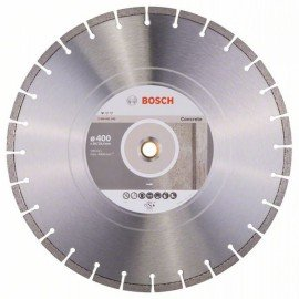 Bosch Gyémánt darabolótárcsa, Standard for Concrete kivitel 400 x 20/25,40 x 3,2 x 10 mm