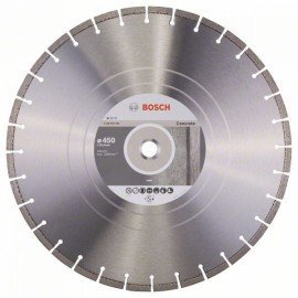 Bosch Gyémánt darabolótárcsa, Standard for Concrete kivitel 450 x 25,40 x 3,6 x 10 mm