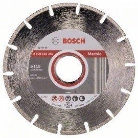 Bosch Gyémánt darabolótárcsa, Standard for Marble kivitel 115 x 22,23 x 2,2 x 3 mm
