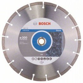 Bosch Gyémánt darabolótárcsa, Standard for Stone kivitel 300 x 20/25,40 x 3,1 x 10 mm