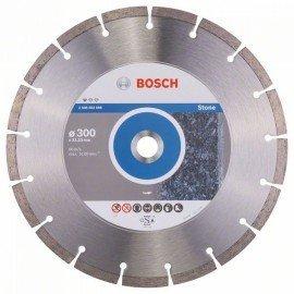 Bosch Gyémánt darabolótárcsa, Standard for Stone kivitel 300 x 22,23 x 3,1 x 10 mm