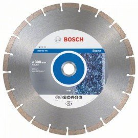 Bosch Gyémánt darabolótárcsa, Standard for Stone kivitel 300 x 25,40 x 3,1 x 10 mm