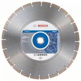 Bosch Gyémánt darabolótárcsa, Standard for Stone kivitel 350 x 25,40 x 3,1 x 10 mm