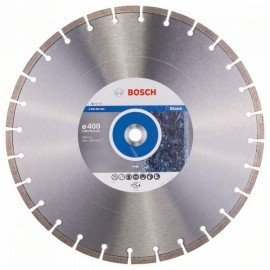 Bosch Gyémánt darabolótárcsa, Standard for Stone kivitel 400 x 20/25,40 x 3,2 x 10 mm