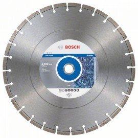 Bosch Gyémánt darabolótárcsa, Standard for Stone kivitel 400 x 25,40 x 3,2 x 10 mm