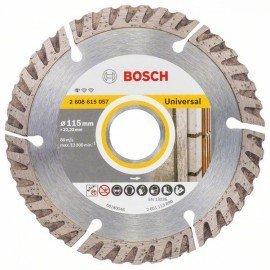 Bosch Gyémánt darabolótárcsa, Standard for Universal kivitel, 115x22,23 115x22.23x2x10