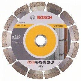 Bosch Gyémánt darabolótárcsa, Standard for Universal kivitel 180 x 22,23 x 2 x 10 mm