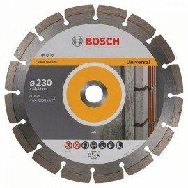 Bosch Gyémánt darabolótárcsa, Standard for Universal kivitel 230 x 22,23 x 2,3 x 10 mm