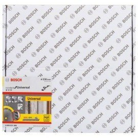 Bosch Gyémánt darabolótárcsa, Standard for Universal kivitel, 230x22,23 (10 db-os csomag) 230x22.23x2.6x10mm