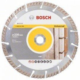 Bosch Gyémánt darabolótárcsa, Standard for Universal kivitel, 230x22,23 230x22.23x2.6x10mm