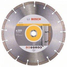 Bosch Gyémánt darabolótárcsa, Standard for Universal kivitel 300 x 22,23 x 3,1 x 10 mm