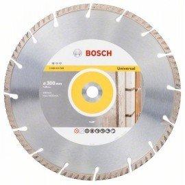 Bosch Gyémánt darabolótárcsa, Standard for Universal kivitel, 300x20 300x20x3.3x10mm