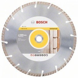 Bosch Gyémánt darabolótárcsa, Standard for Universal kivitel, 300x22,23 300x22.23x3.3x10mm