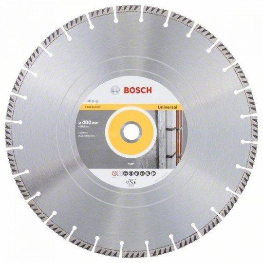 Bosch Gyémánt darabolótárcsa, Standard for Universal kivitel, 400x25,4 400x20x3.2x10mm