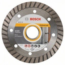 Bosch Gyémánt darabolótárcsa, Standard for Universal Turbo kivitel 115 x 22,23 x 2 x 10 mm