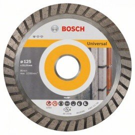 Bosch Gyémánt darabolótárcsa, Standard for Universal Turbo kivitel 125 x 22,23 x 2 x 10 mm