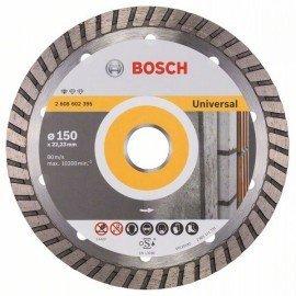 Bosch Gyémánt darabolótárcsa, Standard for Universal Turbo kivitel 150 x 22,23 x 2,5 x 10 mm