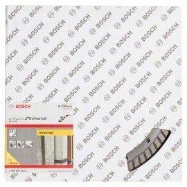 Bosch Gyémánt darabolótárcsa, Standard for Universal Turbo kivitel 230 x 22,23 x 2,5 x 10 mm