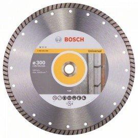 Bosch Gyémánt darabolótárcsa, Standard for Universal Turbo kivitel 300 x 20/25,40 x 3 x 10 mm