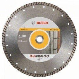 Bosch Gyémánt darabolótárcsa, Standard for Universal Turbo kivitel 300 x 22,23 x 3 x 10 mm