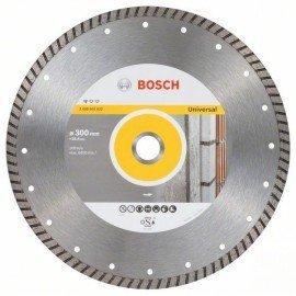 Bosch Gyémánt darabolótárcsa, Standard for Universal Turbo kivitel 300 x 25,40 x 3 x 10 mm