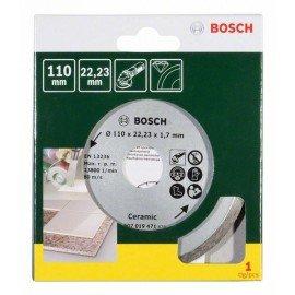 Bosch Gyémánt vágótárcsa csempéhez, Ø 110 mm