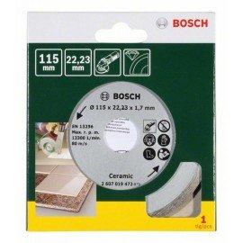Bosch Gyémánt vágótárcsa csempéhez, Ø 115 mm