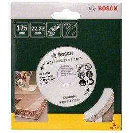 Bosch Gyémánt vágótárcsa csempéhez, Ø 125 mm