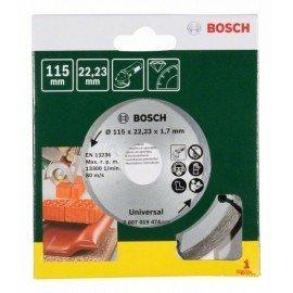 Bosch Gyémánt vágótárcsa építőanyagokhoz, Ø 115 mm