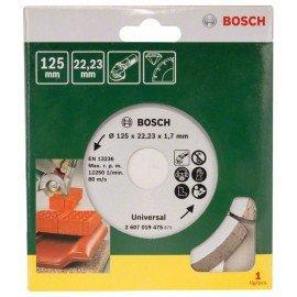 Bosch Gyémánt vágótárcsa építőanyagokhoz, Ø 125 mm