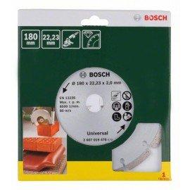 Bosch Gyémánt vágótárcsa építőanyagokhoz, Ø 180 mm