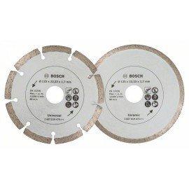 Bosch Gyémánt vágótárcsák csempéhez és építőanyagokhoz, Ø 125 mm