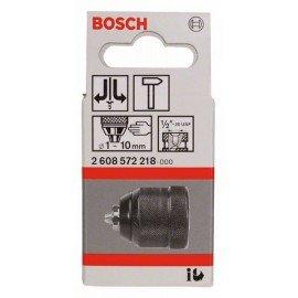 """Bosch Gyorsbefogó fúrótokmány, 10 mm-ig 1-10 mm, 1/2"""" - 20"""